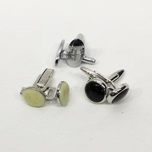 Standard cufflinks included in hire package