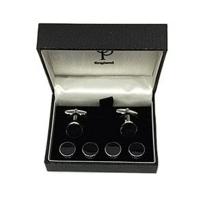 cufflinks and shirt studs